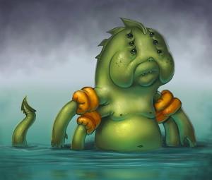 sad kraken