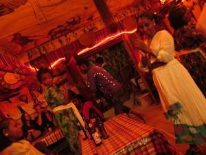 Torpido: dancer beginning the eskata, ancient dance (and tourist torture ritual)